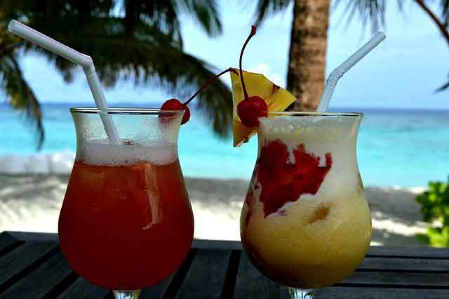 All-Inclusive Frosty Tropical Cocktails