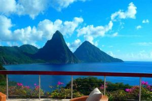 St Lucia Vacations - twin peaks of the Pitons